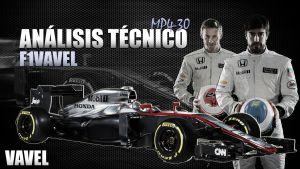 Análisis F1 VAVEL. McLaren-Honda MP4-30: un monoplaza llamado al éxito