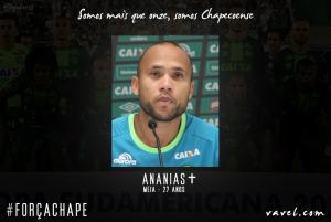 Ananias: integrante da famosa Barcelusa marca época no time do sonhos da Chapecoense