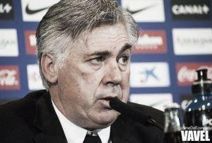 """Ancelotti: """"Habrá que poner toda la energía para ganar al Málaga"""""""