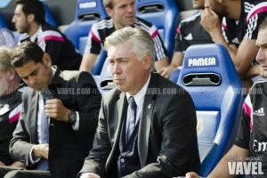 """Carlo Ancelotti: """"Lo importante era sacar los tres puntos"""""""