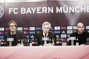 Los protagonistas del Bayern - Gladbach, ante los medios