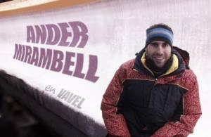 """Entrevista. Ander Mirambell: """"Vivo cada bajada porque no sé cuál será la última"""""""