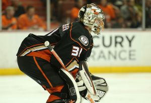 Frederik Andersen Shuts Out The Flames As Anaheim Remains Unbeaten In 2015 Postseason