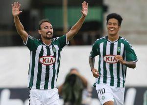 André Claro dio los tres puntos a Vitória FC