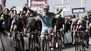 Andrea Guardini, primer líder del Eneco Tour