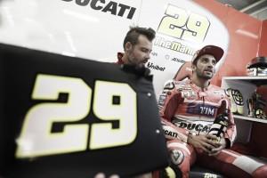 """Andrea Iannone: """"Espero que no llueva, tenemos mucho trabajo que hacer"""""""
