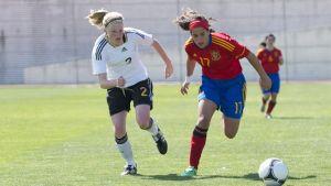 Nuestras perlas en la Euro Sub-17 (III): centrocampistas