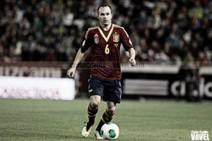 Andrés Iniesta se cae de la concentración con la Selección Española