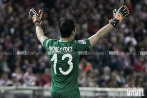 """Andrés Fernández: """"Estoy contento por como me van las cosas"""""""
