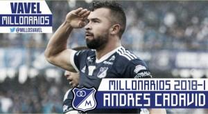 Millonarios 2018-I: Andrés Cadavid