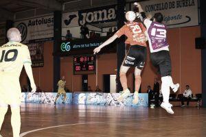 Jaén FS acaricia el billete de la Copa en Burela