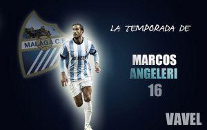 Málaga 2014/2015:la temporada de Marcos Angeleri