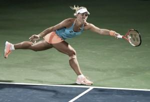 WTA Dubai: Angelique Kerber gets her revenge on Monica Puig for Olympic defeat