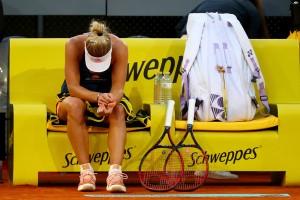 WTA Roma 2017 - Kerber al tappeto, Muguruza di carattere, fuori la Cibulkova