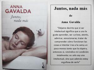 'Juntos, nada más', de Anna Gavalda