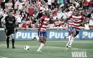 El-Arabi: el gol del Granada