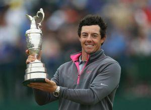 Rory McIlroy culmina su victoria en el British Open