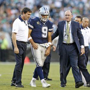 Tony Romo estará fuera de ocho a diez semanas