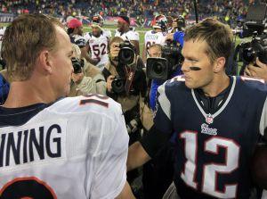 New England Patriots - Denver Broncos: partido del año en busca de la Super Bowl