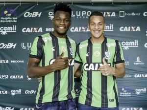 Na apresentação, Paulão e Wesley exaltam 'grandeza' do América-MG
