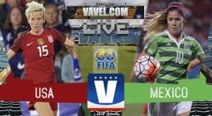 Score USWNT vs Mexico in the Women's International Friendly (4 - 1)
