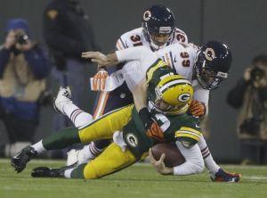 Bears superó a Packers y hay triple empate en la NFC norte