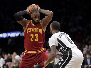 Cleveland ritrova i Big Three e la vittoria. Brooklyn al tappeto (108-116)