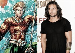 Jason Momoa se viste de Aquaman