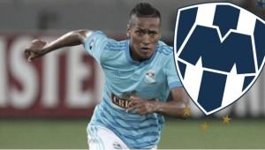 Pedro Aquino confirmó que ya es nuevo jugador del Rayados de Monterrey