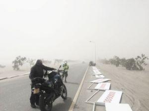Suspendida la quinta etapa del Tour de Omán