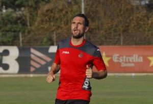 Arbilla, duda para el partido ante Las Palmas