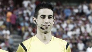 Vicandi Garrido arbitrará el Real Madrid - Málaga