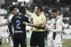 Competición retira la primera tarjeta amarilla de Fede Vico ante el Córdoba