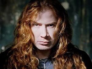 Dave Mustaine, haciendo amigos