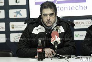 """Gonzalo Arconada: """"Estoy muy contento con el trabajo del equipo"""""""
