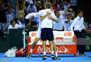 Argentina beat Great Britain in Davis Cup classic