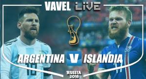 Resumen Argentina 1-1 Islandia en Mundial Rusia 2018