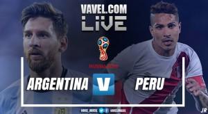 Resultado Argentina x Peru pelas Eliminatórias Sul-Americanas (0-0)