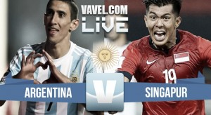 Resultado Argentina vs Singapur (6-0)