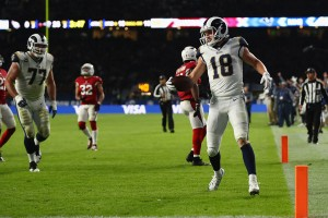 Los Angeles Rams easily handle the Arizona Cardinals in London