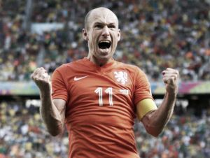 Arjen Robben has no regrets over United snub
