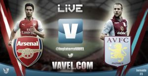 Arsenal vs Aston Villa, Premier League en vivo y en directo online (1-0)