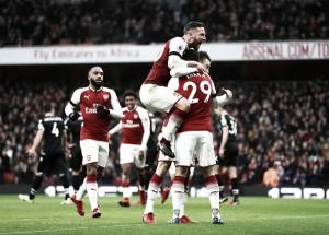 Arsenal é fatal nos primeiros 22 minutos, bate Palace e reencontra caminho das vitórias