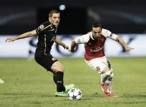Resultado Arsenal 3-0 Dinamo de Zagreb en Champions League 2015