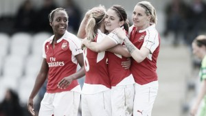 Arsenal Ladies 7-0 Sunderland Ladies: Stunning second half sees Gunners head to Wembley