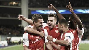 Dos cañonazos en los minutos finales dan la victoria al Arsenal