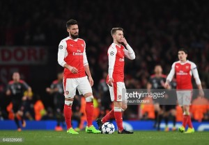 Arsenal 1-5 Bayern Munich: Gunners player ratings following another capitulation