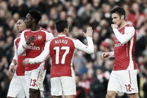 El Arsenal sella el pase a cuartos ante un débil Middlesbrough