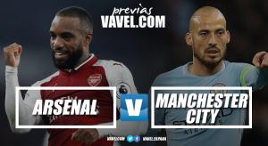 Previa Arsenal-Manchester City: el campeón inicia la defensa de su corona