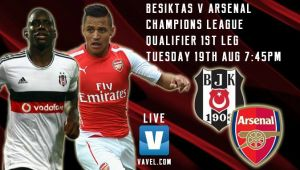 Besiktas vs Arsenal Live Score and Result of Champions League Play Offs 2014